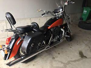 OEM Honda shadow aero/spirit 1100cc exhaust