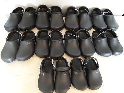 SKECHERS BOBS BLACK CROCS SLIP-ON/CLOG SHOES Youth Sizes BOYS/GIRLS NEW W/O BOX](Girls Black Slip On Shoes)