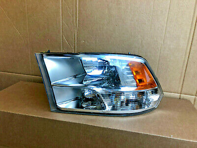 2009 2010 2011 2012 DODGE RAM 1500 3500 LEFT DRIVER HALOGEN HEADLIGHT OEM