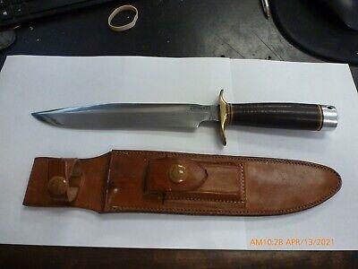 Rare - WWII? Randall NO. 1 Fighting Knife w/ Heiser Sheath