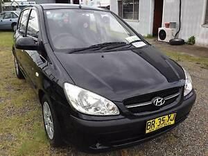 2007 Hyundai Getz Hatchback Newcastle Newcastle Area Preview