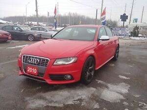2010 Audi S4 Premium LOW KM!!CERTIFIED!!FINANCING!!WARRANTY!!