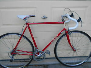 2 GREAT VINTAGE ROAD RACE BIKES SIZE-56CM
