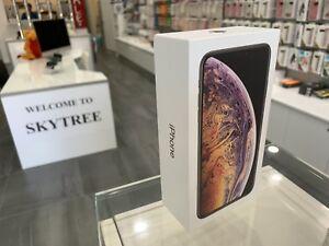 New iPhone XS MAX 512gb Gold Apple warranty tax invoice