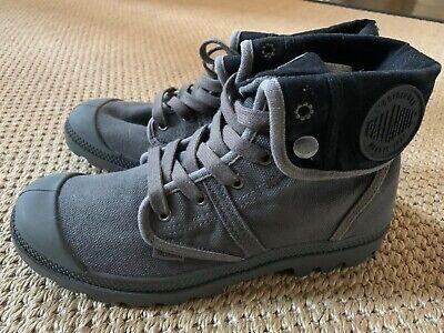 Palladium Pallabrouse Hiking Boots Women's Size 10 EUR 42 Gray NWOT 92478-029