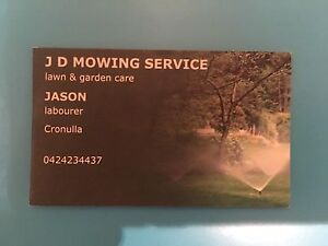 Mowing and gardening Cronulla Sutherland Area Preview