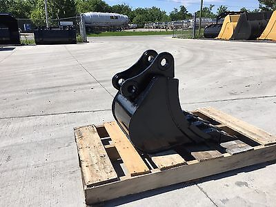 New 10 Yanmar Vio35 Heavy Duty Excavator Bucket W Coupler Pins