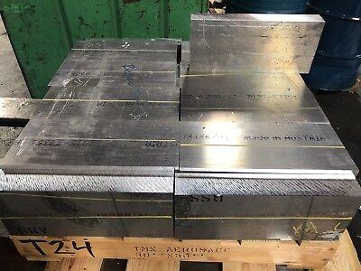 Aluminum Plate 7075 2.25 X 6.25 X 14.625