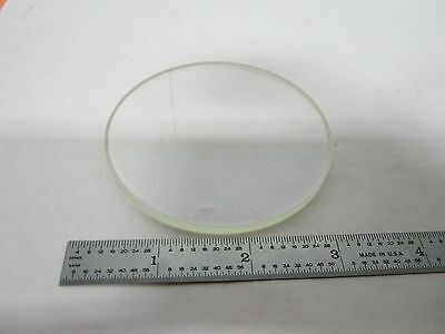 Microscope Optical Flat Glass Stage Window Optics Olympus Nikon As Is Binj9-05