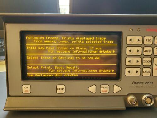 Hocking Phasec 2200 Eddy Current Flaw Detector (Model 33I012)