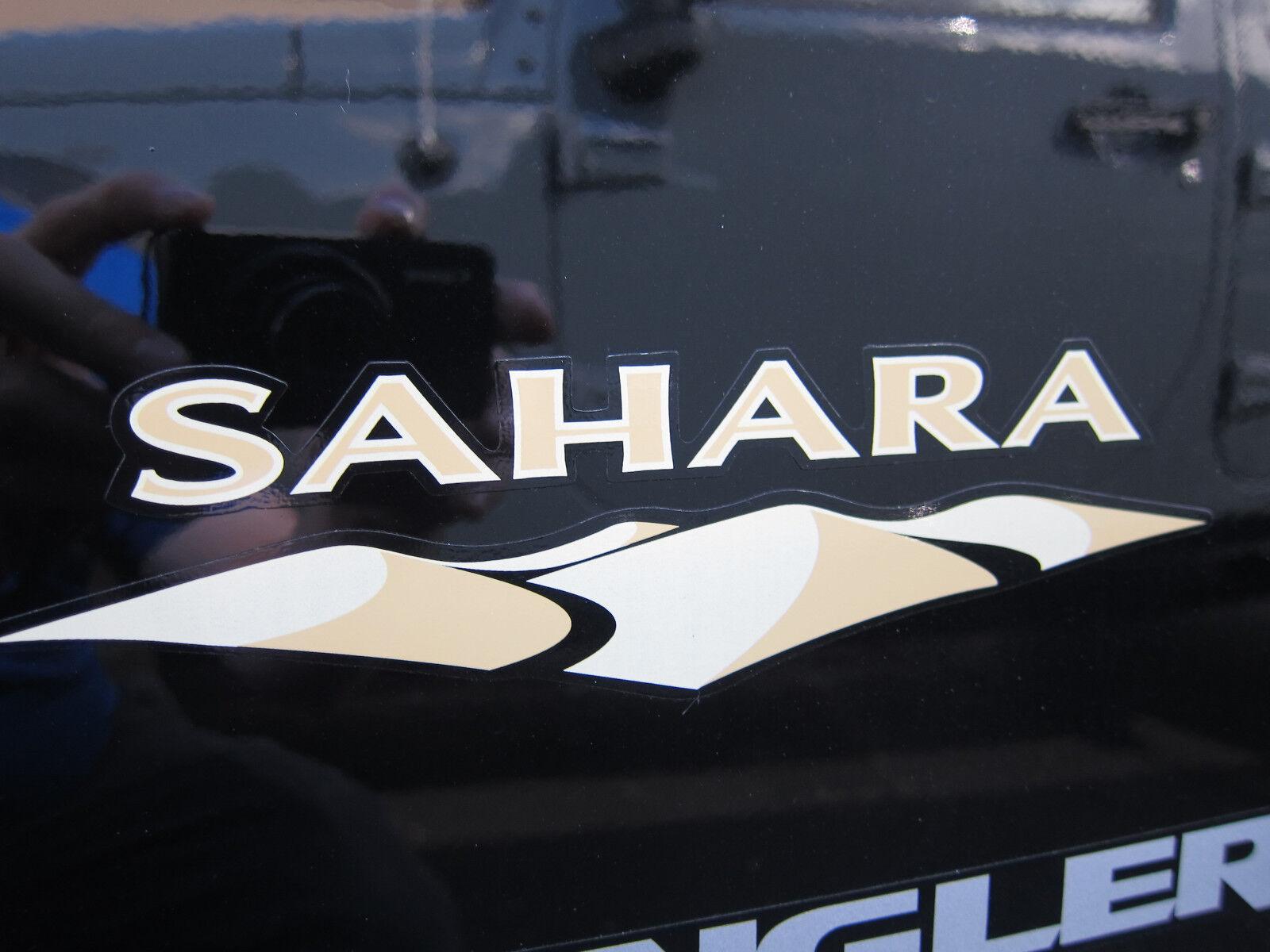Dodge Promaster City >> 2007-2017 Jeep Wrangler Sahara Decal Sticker Badge Mopar ...