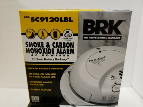 BRK Brands Hardwired Combo Smoke & CO Alarm, 10-Year Sealed