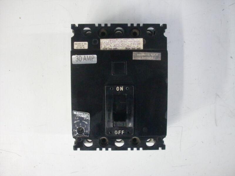 SQUARE D FA FRAME CIRCUIT BREAKER FAL-36030-M