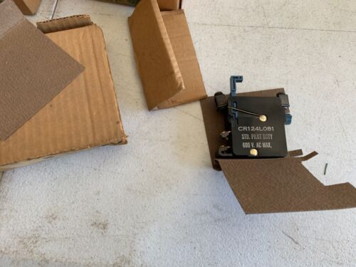 One (1) General Electric CR124L081 Overload Relay for Size 2, 600V, NOS