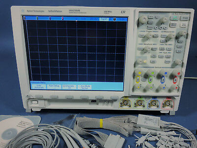 Keysightagilent Mso7054b Mixed Signal Oscilloscope 4 Analog 16 Digital Chan