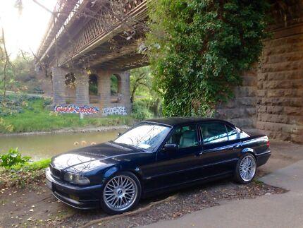 BMW 740il individual 1998