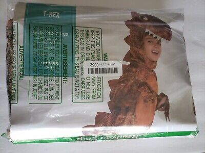 Rubies Inflatable T-REX Child Halloween Costume for Child Multi-Colored 3-4 T