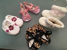 Baby Girl Shoes Boots Prewalker BNWOT or EUC Glenmore Park Penrith Area Preview