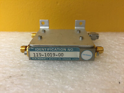 Tektronix 119-1019-00 Sma F Power Divider Module. For 492 494 496. Tested