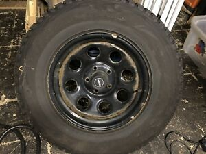 Jeep Winter tires and rims