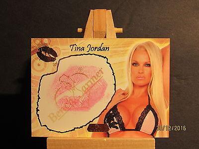 2007 banc chauffe doré bisou #11 tina jordan