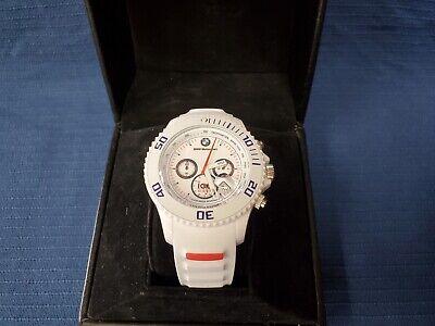 ICE Watch BM.CH.WE.B.S.13 BMW Motorsport Edition, Chrono, White