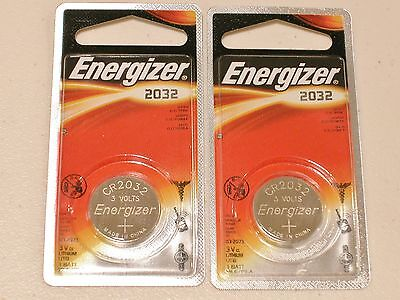 2 pc FOIL PACKAGE GENUINE ENERGIZER CR2032 lithium 3v battery cr 2032 EXPIRE2023