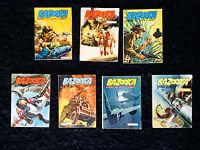 Lotto 7 Fumetti Bazooka Guerra Su Tutti I Fronti Tra Il N° 18 E Il N° 158 Dardo - bazooka - ebay.it