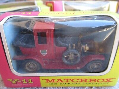 MATCHBOX MODELS OF YESTERYEAR 1912 PACKARD LANDAULET MOY Y11-2  BOXED
