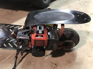 33cc stand up gas scooter