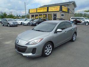 2013 Mazda Mazda3 GX *GET APPROVED TODAY*