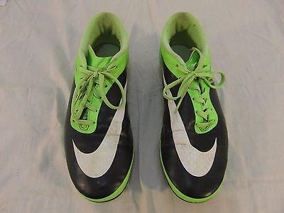 Adult Men's Nike Hypervenom Neon Green Black Skull Design Soccer Cleats 31697
