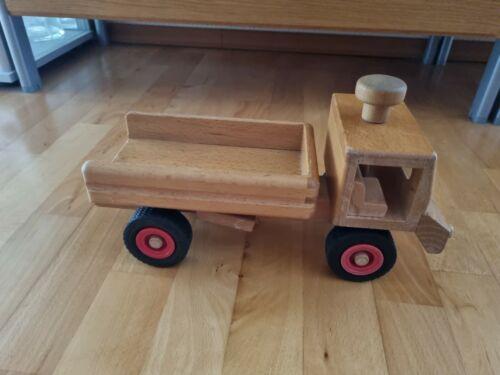 Fagus Muldenkipper-LKW, Kipper Lkw Holzspielzeug Holz