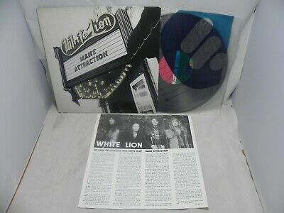 White Lion - Mane Attraction 1991 Rare Korea LP W/Insert & No Barcode