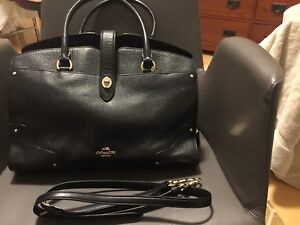 Preowned good condition Coach Merced Satchel tote large