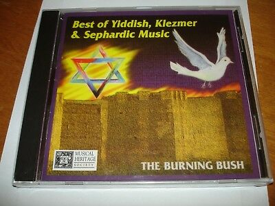 The Burning Bush -Best Of Yiddish, Klezmer & Sephardic Music (CD 2006) Brand (The Best Of Bush)