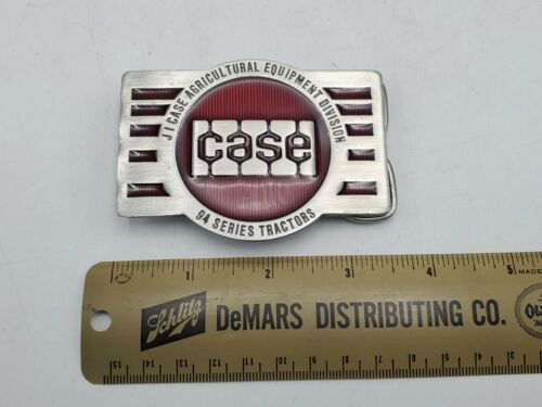 Vintage 1983 J I CASE Agricultural Equipment 94 Series Tractors Belt Buckle