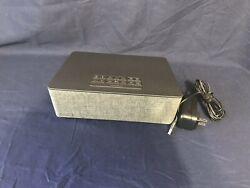 iHome IBT233V22 Bluetooth Dual Alarm Stereo Clock Radio - Gray