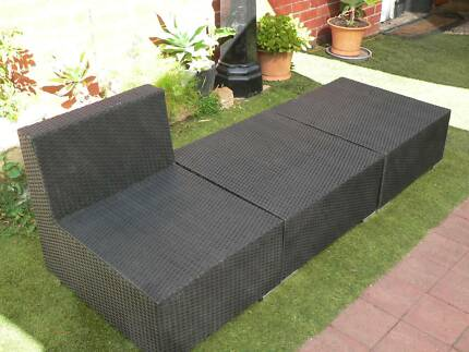 Wicker, rattan modular outdoor garden leisure furniture