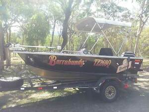 TABS 4.35m Sportsfisher 60hp 4 stroke side console off road trail Mount Molloy Tablelands Preview