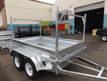 AUSSIE MADE!AUSSIE HOT DIPPED GALVANISED TANDEMS & BOX TRAILERS Toowoomba Region Preview