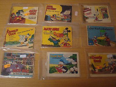 26x Micky Maus Bildstreifen Hefte Nr.1-9,12-27,30