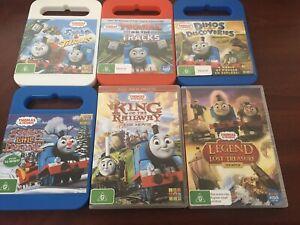Thomas the tank engine DVD's