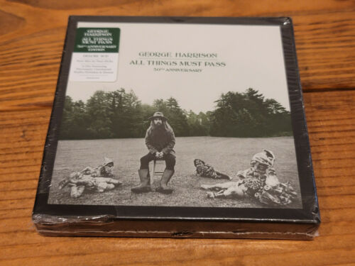 George Harrison - All Things Must Pass 50th Anniversary  3 CD - NEW W/ FREE SHIP