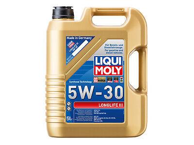 Liqui Moly Longlife III Motoröl 5W-30, 5-Liter, VW 504 00, VW 507 00 - 20647
