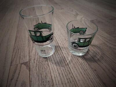 Decorative Resin Shot Glass Shotglass Opalescent Green /& Purple Toothpick Holder