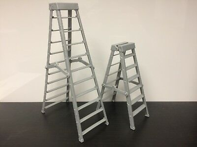 WWE Mattel Action Figure Accessory 2x Ladders -One Tall, One Regular Elite loose for sale  Shipping to India