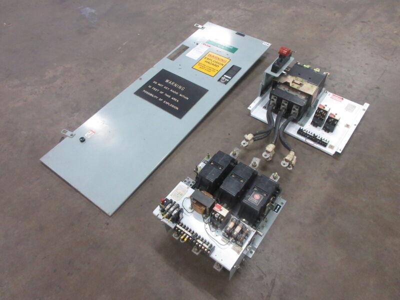 "GE 8000 Size 6 Starter 1000 Amp Breaker 66"" MCC FVNR Bucket General Electric Sz6"