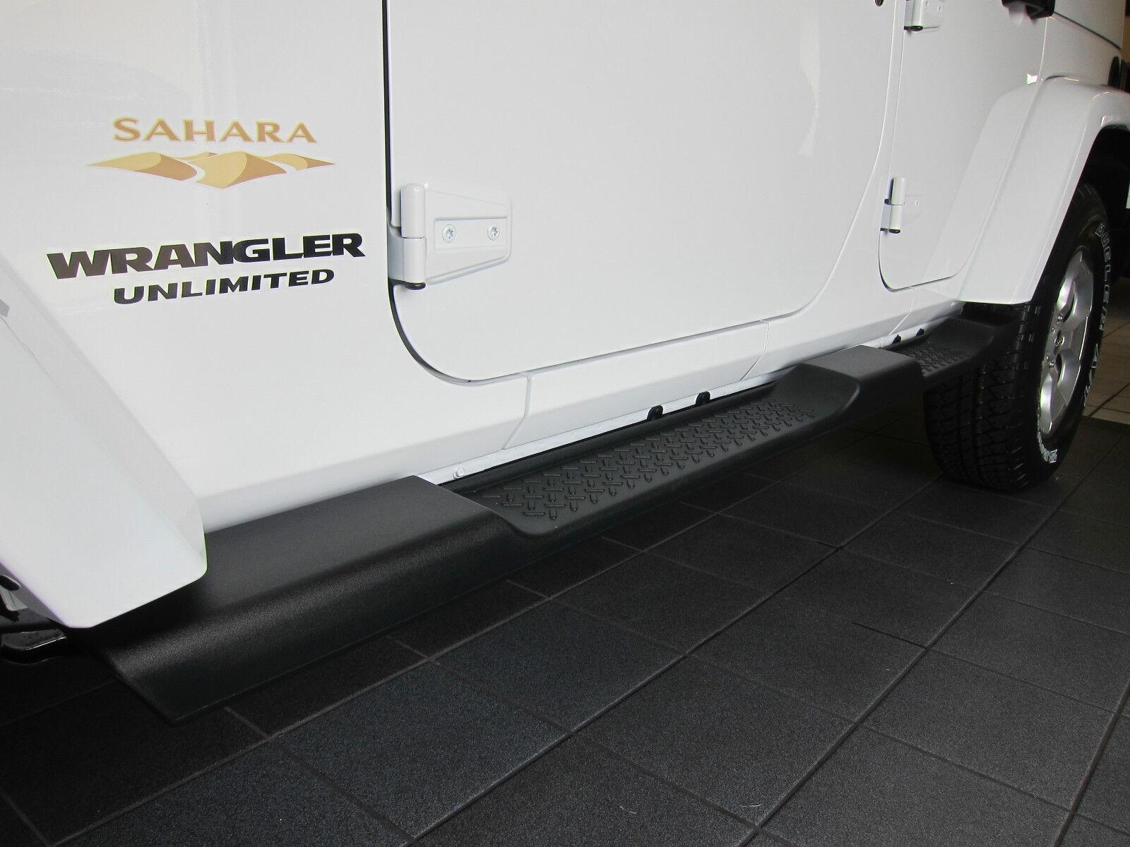 2007 2018 Jeep Wrangler Unlimited 4 Door Jk Side Steps