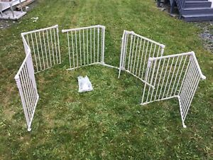 Strong metal Baby gate and fence